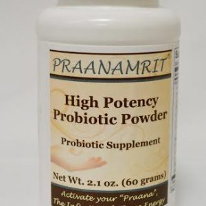 High Potency probiotic Powder Front