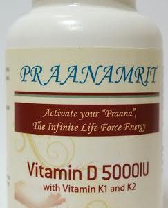 Vitamin D 5000 IU with K1 and K2 Front