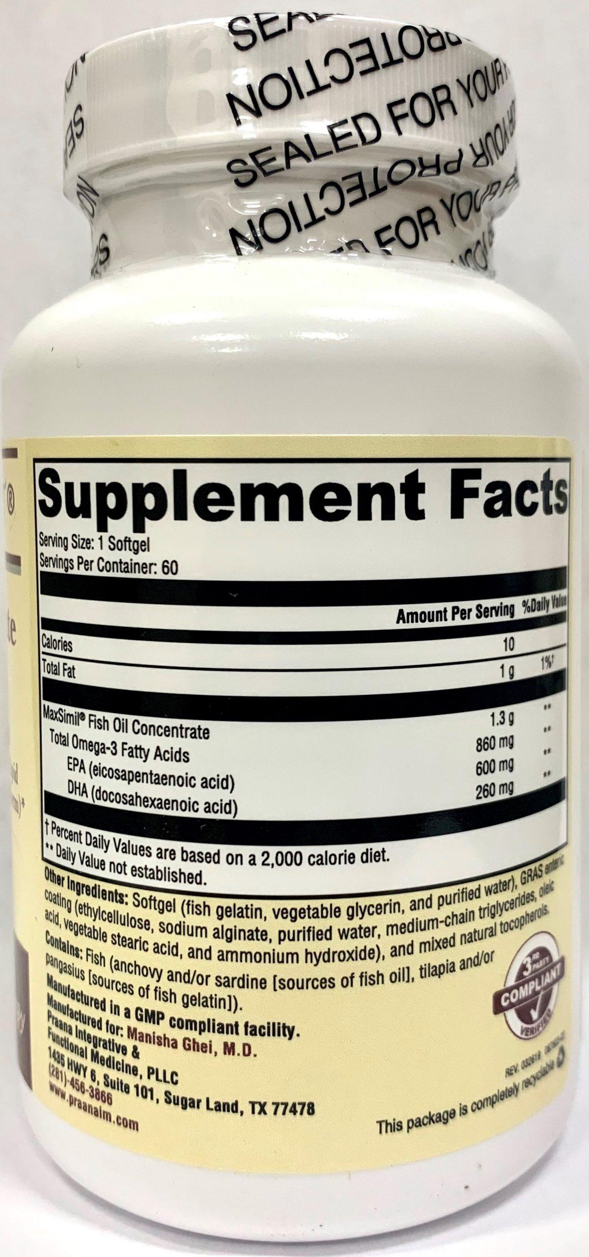 Monopure reviews omega Xymogen Monopure